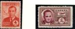 Sellos de Europa - España -  Haya y Garcia Morato Correo Aereo. Codigo Edifil (991-992)