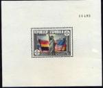 Sellos de Europa - Espa�a -  1 de Junio CL Aniversario de la Constituci�n de los EE.UU. Codigo Edifil(764)