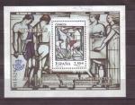 Stamps Spain -  serie- vidrieras