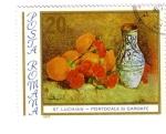 Stamps Romania -  St Luchian