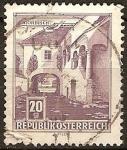 Sellos de Europa - Austria -  Patio Antiguo, Mörbisch (a).