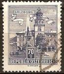 Sellos del Mundo : Europa : Austria : Palacio Arzobispal, Salzburgo (a).