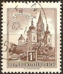 Sellos del Mundo : Europa : Austria : Basílica Mariazell (a).
