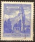 Sellos del Mundo : Europa : Austria : Munzturm  Hall en Tyrol