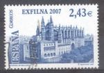 Sellos de Europa - España -  ESPAÑA 2007_SH4321 EXFILNA 2007.CATEDRAL DE PALMA DE MALLORCA