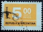 Sellos de America - Argentina -  Valor
