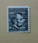 Stamps United States -  Lincoln.