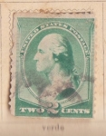 Stamps United States -  Presidente Washington Ed. 1887