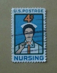 Stamps United States -  Enfermera