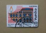 Sellos de Europa - España -  Universidad de Zaragoza.