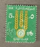 Stamps Egypt -  Espigas
