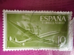Stamps Spain -  Ed:1179 - Superconstellation y Nao Sta.María.