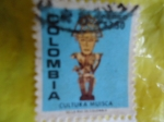 Stamps America - Colombia -  CULTURA MUISCA (ó Moscas)