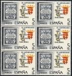 Stamps Spain -  50 aniv. sello de recargo exposición de  Barcelona