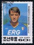 Sellos de Asia - Corea del norte -  Scott  3128  Fausto pari