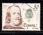 Sellos de Europa - España -  E2555 Felipe IV (387)