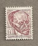 Stamps Czechoslovakia -  R. Rolland