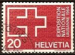 Sellos del Mundo : Europa : Suiza : Exposicion Nacional Lausanne 1964