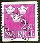 Sellos de Europa - Suecia -  TRES CORONAS