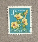Sellos del Mundo : Oceania : Nueva_Zelanda : Flor Puarangi