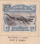 Sellos de Asia - Malasia -  Norte Borneo Ed 1893