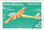 Stamps Romania -  aeronautica