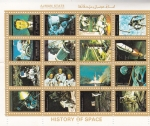 Stamps United Arab Emirates -  aeronautica