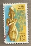 Sellos de Africa - Egipto -  Escultura