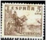Sellos del Mundo : Europa : España :  Cifras. Cid e Isabel. Codigo Edifil (916)