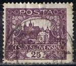 Stamps Czechoslovakia -  36 - Castillo de Praga