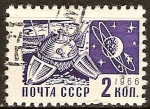 Sellos del Mundo : Europa : Rusia : Transporte espacial