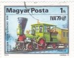 Sellos de Europa - Hungría -  ferrocarriles de vapor