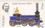 Stamps Poland -  ferrocarriles de vapor-personaje