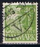 Stamps Denmark -  Scott  197   Carabela (3)