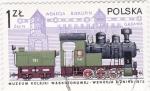Stamps Poland -  ferrocarriles de vapor
