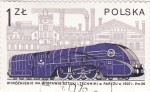 Stamps Poland -  ferrocarriles