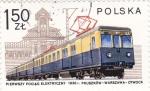Sellos de Europa - Polonia -  ferrocarriles