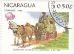Sellos de America - Nicaragua -  centenario adhesion nicaragua a la upu