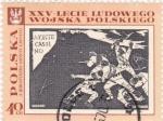 Stamps Poland -  xxv-lecie ludowego wojska polskiego