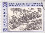 Sellos del Mundo : Europa : Polonia : xxv-lecie ludowego wojska polskiego