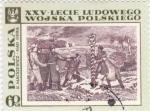 Sellos de Europa - Polonia -  xxv-lecie ludowego wojska polskiego