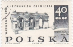 Sellos de Europa - Polonia -  martyrologia i walka
