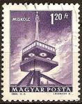 Sellos del Mundo : Europa : Hungría : Torre de televisión,Miskolc