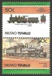 Stamps Oceania - Tuvalu -  locomotora japonesa