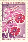 Stamps France -  Floralies Orleans