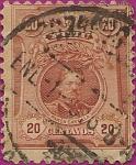 Stamps Peru -  Hombres Célebres: Ramón Castilla.