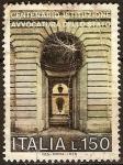 Sellos de Europa - Italia -  centenario de la institución de la defensa del Estado
