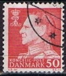 Stamps Denmark -  Scott  418  Frederik IX