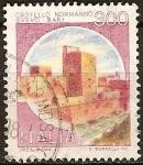 Sellos del Mundo : Europa : Italia :  Castillo Norman de Suabia, Barí