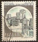 Sellos del Mundo : Europa : Italia : Castillo Escalígero  de Sirmione